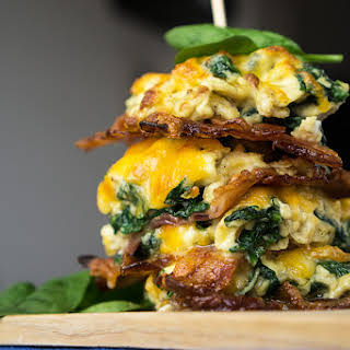 Low Carb Breakfast Stax.