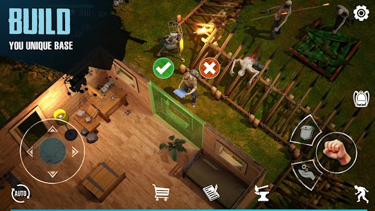 Last Survivor Diaries – Zombie Survival Apk Mod (God Mod+Hit Kill+Free Craft) 3