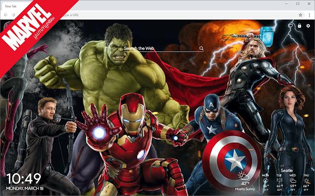 Marvel Comics Hd Wallpapers New Tab