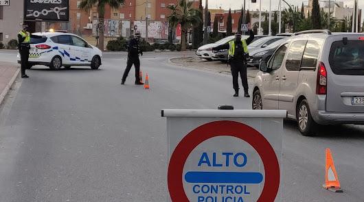 35 bajas en la Policía Local de Almería a causa del coronavirus