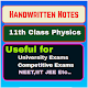 Handwritten Notes of 11th Class Physics Download on Windows