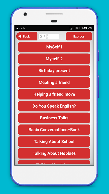 Express Easy Conversation - Speak English – (Android Apps