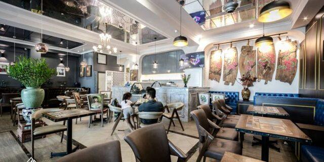 Thiết kế quán cafe theo phong cách đương đại
