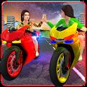 Girls Biker Gang 3D icon