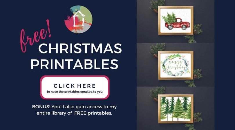 free christmas printables for your home designer trapped. Black Bedroom Furniture Sets. Home Design Ideas