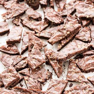 Salted Caramel Brownie Brittle.