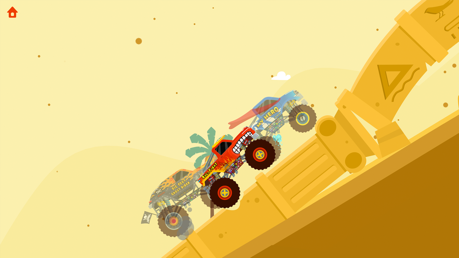 Monster Truck Go for kids Free- screenshot