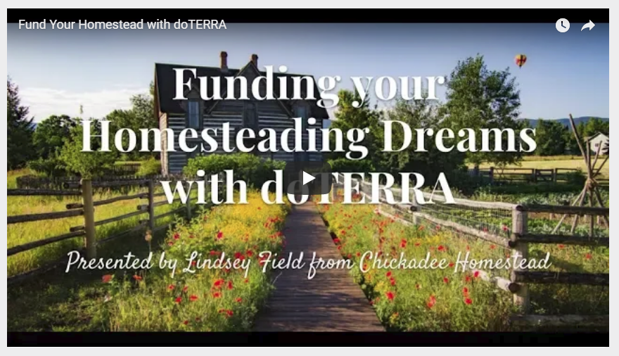funding your homesteading dreams with doTERRA