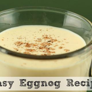 Easy Eggnog.