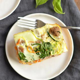 Spiralized Breakfast Casserole