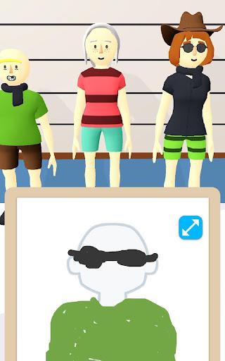 Line Up: Draw the Criminal apktram screenshots 11