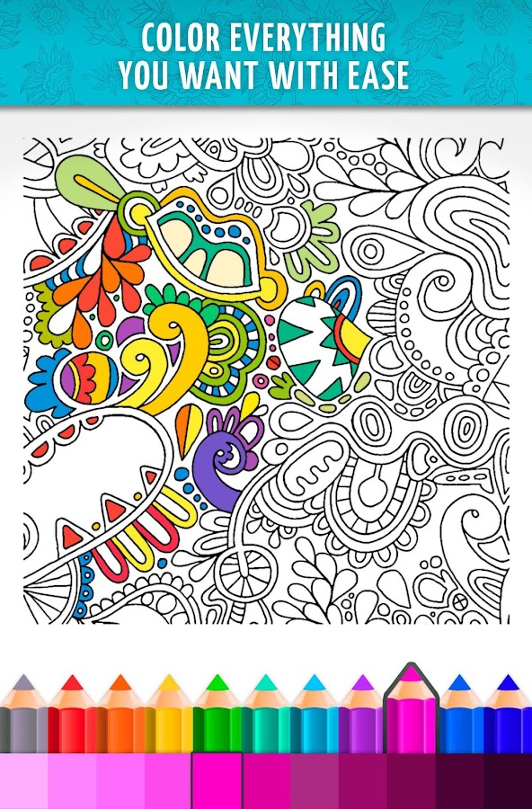 coloring book art studio screenshot - Coulering Book