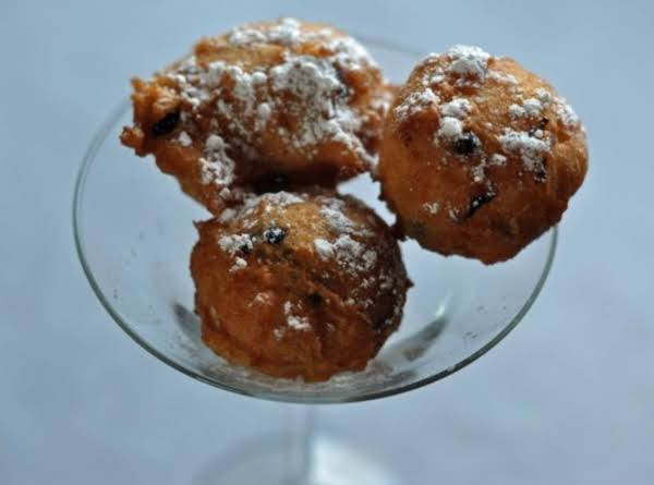 Denny's Blueberry And White Pancake Puppies Recipe