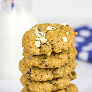 Whole Wheat Oatmeal Raisin Cookies Recipe