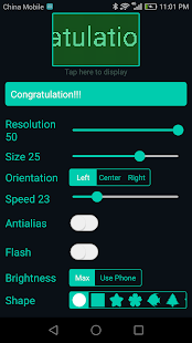 LED Scroll Pro Screenshot