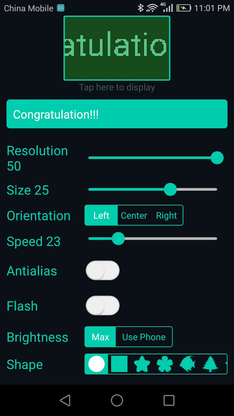 LED Scroll Pro Screenshot 1