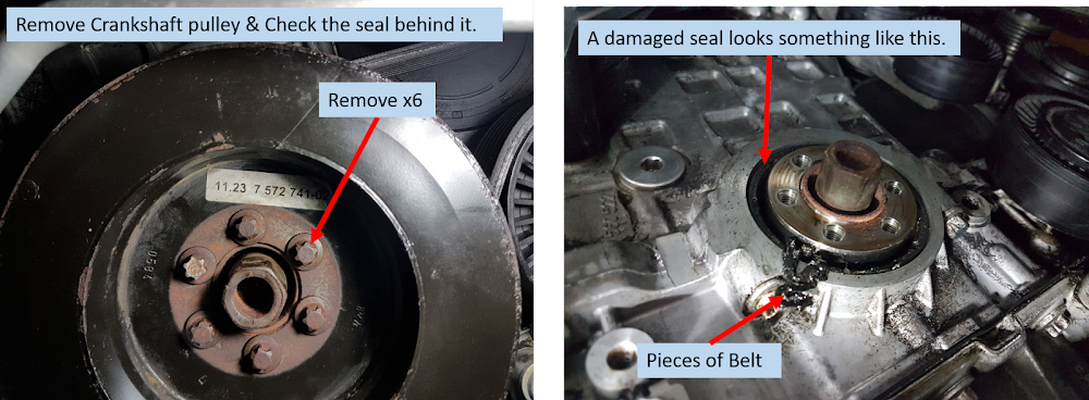 DIY: 335i N54 Front CrankShaft Seal Replacement - BMW 3
