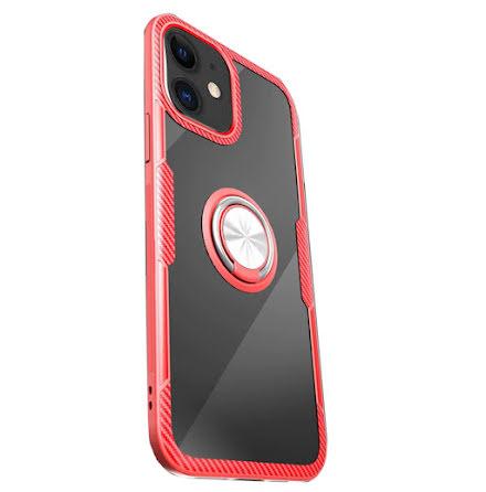 iPhone 12 - Praktiskt LEMAN Skal med Ringhållare