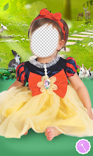 Baby Princess Photo Montage - náhled