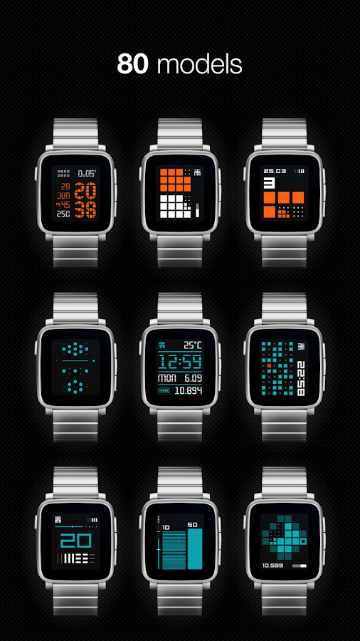 TTMM for Pebble Time- screenshot