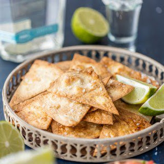 Tequila Lime Baked Tortilla Chips