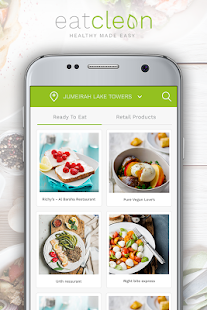 Eat Clean ME: Food Delivery- screenshot thumbnail
