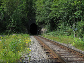 Photo: North Pacific Railway tunnel