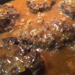 One of THE VERY BEST SALISBURY STEAK