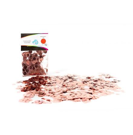 Ballongkonfetti - roséguld, 15 gram
