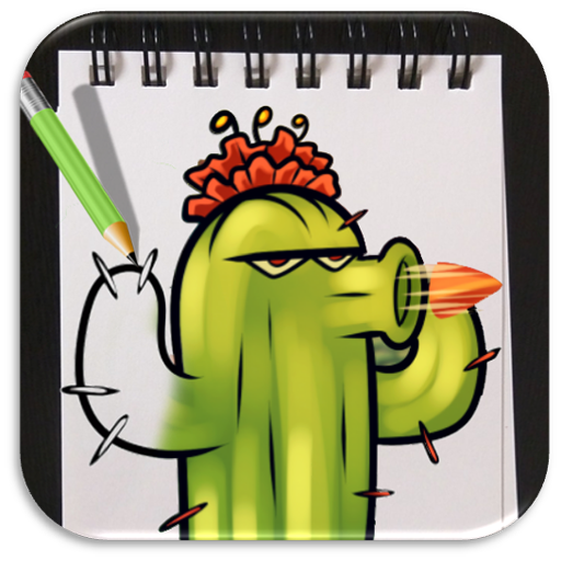 How to Draw Plants vs Zombies Advanced
