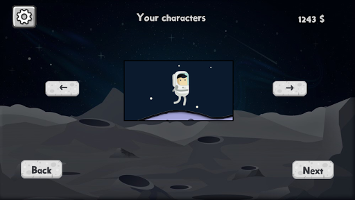 Hill Moon Running android2mod screenshots 1