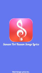 Sanam Teri Kasam Songs screenshot