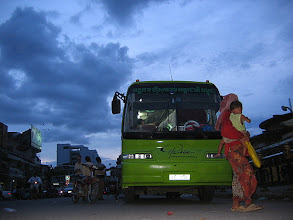 Photo: Bus of hope in Phnom Penh's streets