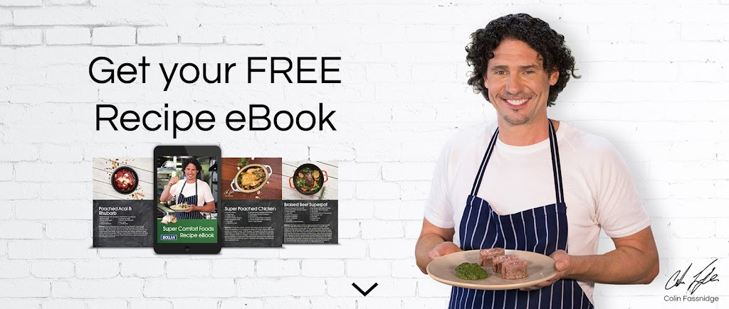 Colin Fassnidge recipe eBook