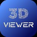 3D Model Viewer - OBJ/STL/DAE icon