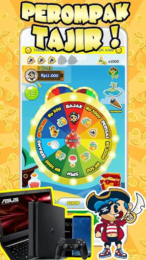 Perompak Tajir - Pulsa Gratis Hadiah Gratis 1.1.0 screenshots 1