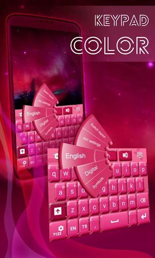 Keypad Color Pink