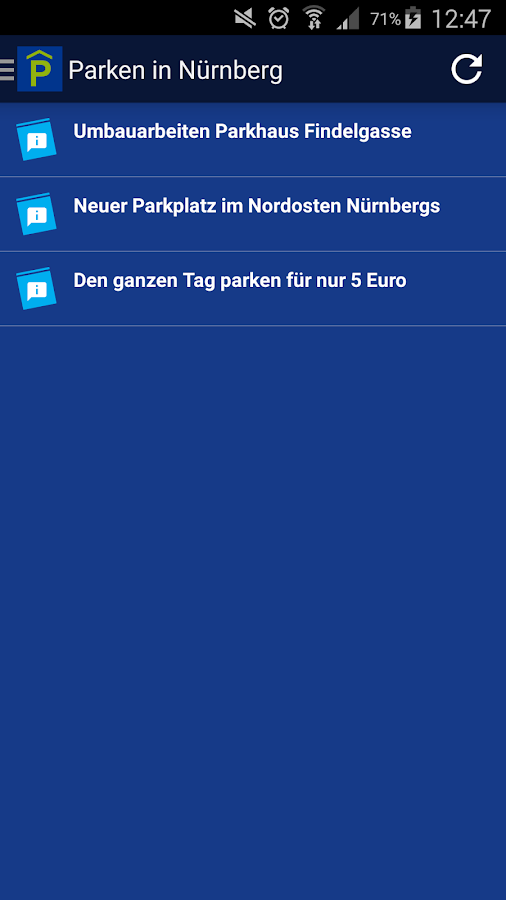 Parking in Nuremberg- screenshot