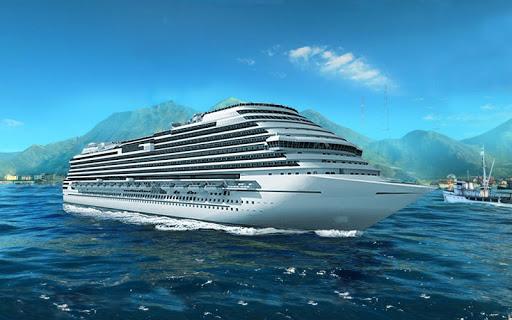 Big Cruise Ship Simulator Games : Ship Games screenshots 7