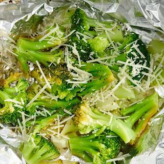 Lemon-Parmesan Broccoli Foil Pack