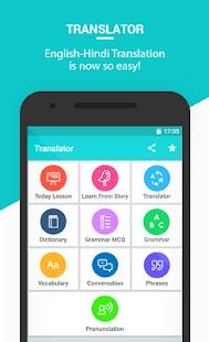 Hindi english translation english speaking course apps on google play screenshot image ccuart Gallery