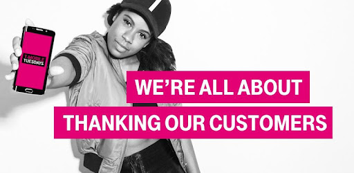 Hey, T-Mobile customers: #GETTHANKED like you've never been thanked before.