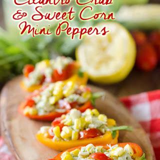 Cilantro Crab & Sweet Corn Mini Peppers