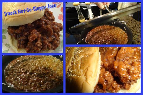 Trace's Not-so-sloppy Joes Recipe