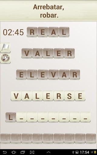 PALABRAS - Juego de Palabras en Espau00f1ol 1.17 screenshots 11