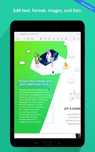 Adobe Acrobat Reader: PDF Viewer, Editor & Creator screenshot 14
