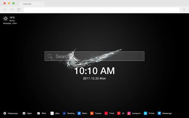 Nike HD Wallpapers New Tabs Theme