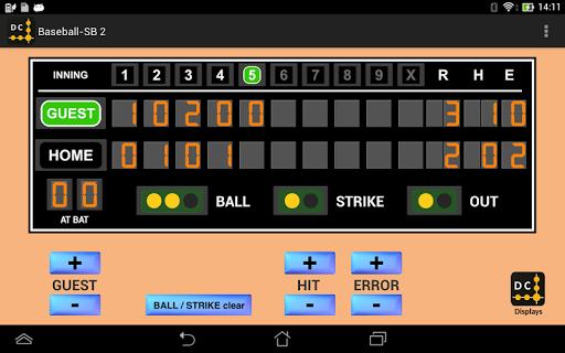 Baseball Scoreboard 2