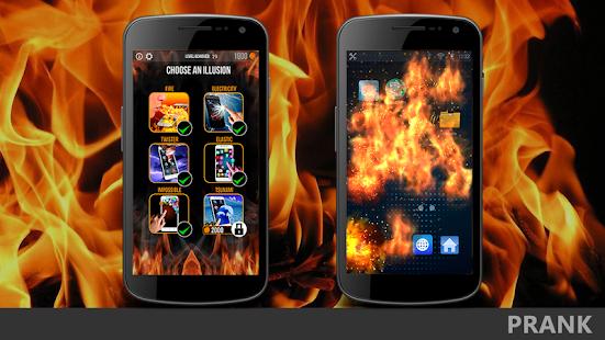 Game Super Crazy Screen Prank Electric Fire Tap Joke I APK for Windows Phone