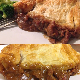 Chunky Steak Pie.